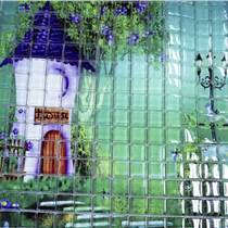 瓷砖玻璃背景墙彩印一体机