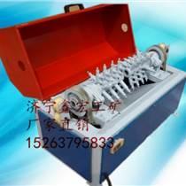 XHCX-50钢筋除锈机价格 螺纹钢除锈机 圆钢除锈