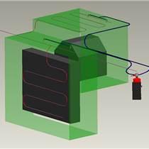 供應放電加工機自動滅火系統