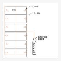供應鋰電池自動滅火裝置  新能源堆垛機滅火系統