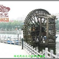 景觀水車哪里有賣廠家批發高品質優質防腐木大型摩天輪水