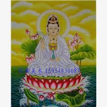 手繪佛像壁畫寺廟背景墻壁畫和欣賞價值上億的油畫
