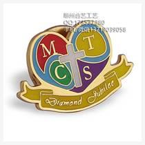 供应金属胸牌、金属胸徽、异型彩色金属徽章