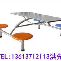 拓扬生产厂家商丘四人位不锈钢餐桌椅