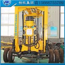 廠家供應 輪式拖車水井鉆機  XYX-3全液壓輪式水