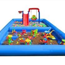 多功能充氣海洋球池沙池組合批發