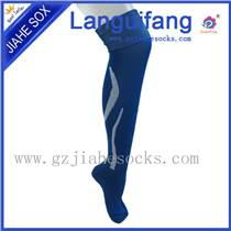 供应长筒加厚毛巾底球员版男运动袜子 可加工定制