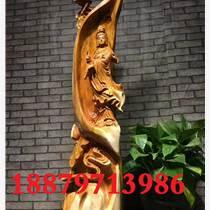 崖柏根雕擺件凈瓶觀音根雕擺件精品崖柏根雕擺件