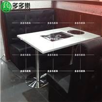 烤涮一体火锅桌韩式无烟自助纸上烤肉桌电磁炉烧烤桌