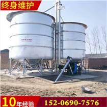 承建粮食镀锌板储罐玉米小麦钢板仓优质厂家