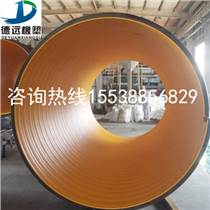 HDPE鋼帶增強排水管 國標鋼帶螺旋波紋管生產廠家