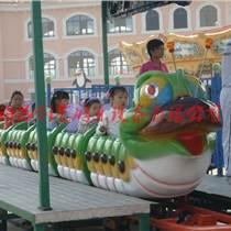 牡丹江创艺横空上市16座轨道青虫滑车游艺设施厂家批发
