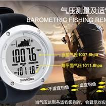 钓鱼用手表  钓鱼专用手表 多功能钓鱼专用手表 松路