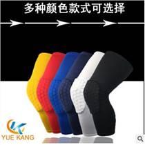 蜂窩運動護膝東莞廠家定制萊卡籃球防撞護膝護具