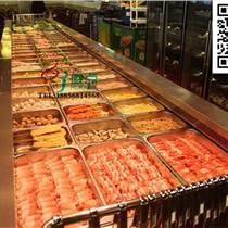 烤肉火鍋店選菜柜,韓式燒烤冷藏柜,風冷自助餐臺定做
