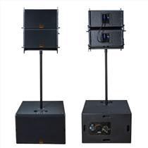 深圳DMJ音響廠家專業4+2線陣音響,線陣音響價格