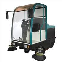 威德爾駕駛室掃地機CS-2100雙刷滾動清掃機無煙塵