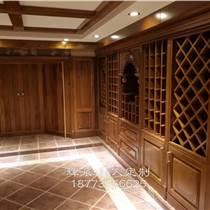 长沙定制全房实木家具、实木橱柜门、酒窖订制高端品牌