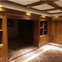长沙别墅实木家具定制、实木橱柜、鞋柜定制专业定做