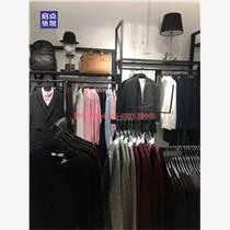 文化自信与品牌内涵,KM服装货架,男装店铺展架