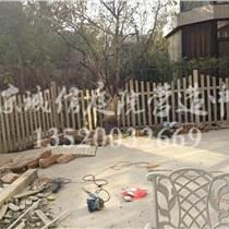 房山私家花园设计制作防腐木栅栏围栏设计施工公司
