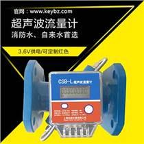 管道式超聲波流量計污水消防水流量計鑄鋼材質上海廠家