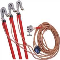 10KV高壓接地線室內接地棒16內配電房接地線夾25