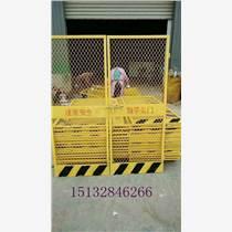 建筑施工工地電梯門【1.31.8對開電梯防護門】框
