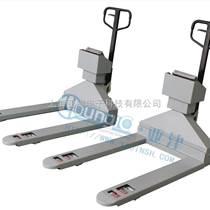 稱重秤防爆電子叉車秤橡膠廠物品測量2.5T防爆板車秤