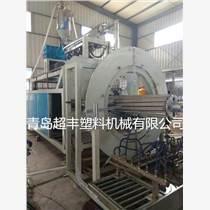 青岛超丰厂家直销HDPE中空壁缠绕管设备