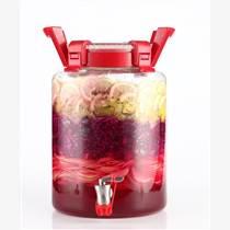 【廠家直銷】高硼硅玻璃無鉛酵素桶泡酒罐密封罐韓帶龍頭