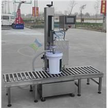 大剂量液体称重灌装机|20公斤漆料灌装机|称重芝麻酱