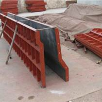 二手盖梁底侧板安装