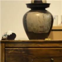 褐色陶瓷花瓶定制家居