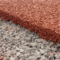 河南彩色膠粘石路面 鄧州市藝術透水地坪材料