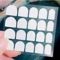 專業定做3M指甲雙面膠貼 指甲防水貼紙 美甲專用雙面