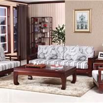 客廳中式實木沙發 木言木語黃菠蘿環保高檔實木家具