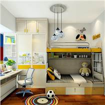 专业量尺定制卧室家具 青少年卧室家具设计 男孩