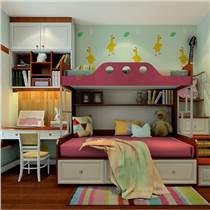 专业定制卧室家具 新古典风格女孩卧室家具 梳妆台 床