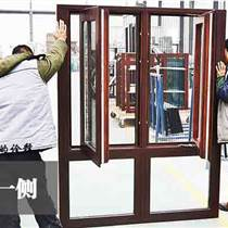 綠盾美佳鋁包木廠家批發86L系列鋁包木門窗紗一體
