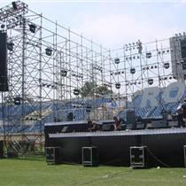 西安舞台珩架灯光音响led大屏液晶电视微信打印机租赁