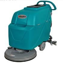 手推式刷地机电动洗地机 全自动洗地车小型轻便式洗地机