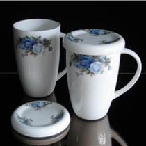 陶瓷马克杯-定做礼品杯子-盛世昌南陶瓷杯-咖啡杯定制