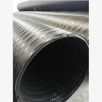 四川立筋式中空塑钢壁钢塑复合缠绕管厂家