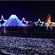 燈光節活動廠家道具生產廠家不同環境打造非凡藝術
