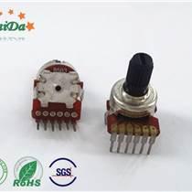 深圳廠家R1216G雙聯電位器調音電位器