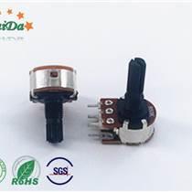 深圳廠家R1610NS五腳開關電位器塑膠軸套調速器