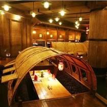 餐饮船定制木船