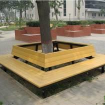 區圍樹椅樹池安裝 圓形防腐木圍樹椅專業廠家