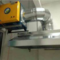 朝陽區食堂煙道改造,安裝離心風機,制作排煙罩